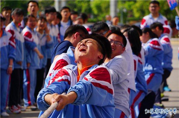 江苏省盱眙中学第四届春季运动会隆重举行