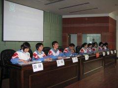 团委活动:盱眙中学辩论赛